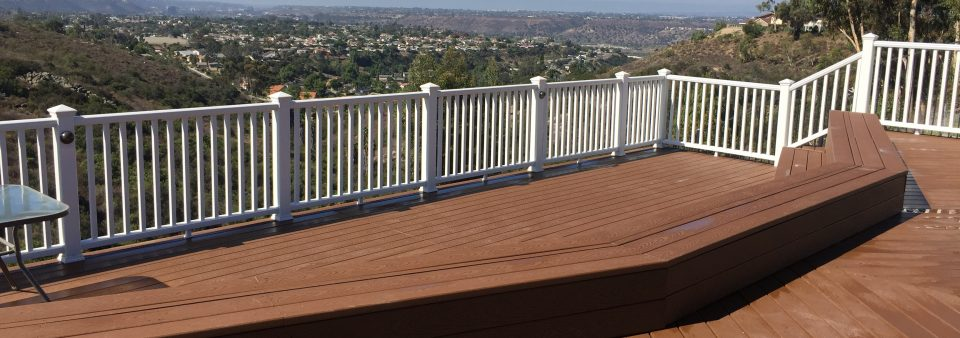 San Carlos deck project! Best view in town!